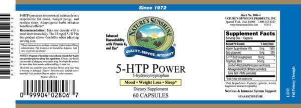 5 HTP Power NSP
