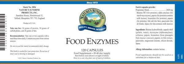 Пищеварительные ферменты (Food Enzymes) NSP