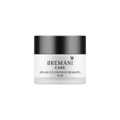 Антивозрастной крем для кожи вокруг глаз SPF15. 40+ Bremani Care
