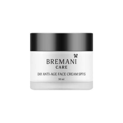 Дневной Антивозрастной Крем для Лица SPF15. 40+ Day Anti-age Face Cream SPF 15 Bremani Care