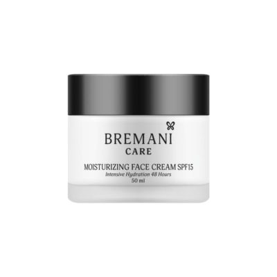 Увлажняющий Крем для Лица SPF15 Moisturizing Face Cream SPF 15 Bremani Care