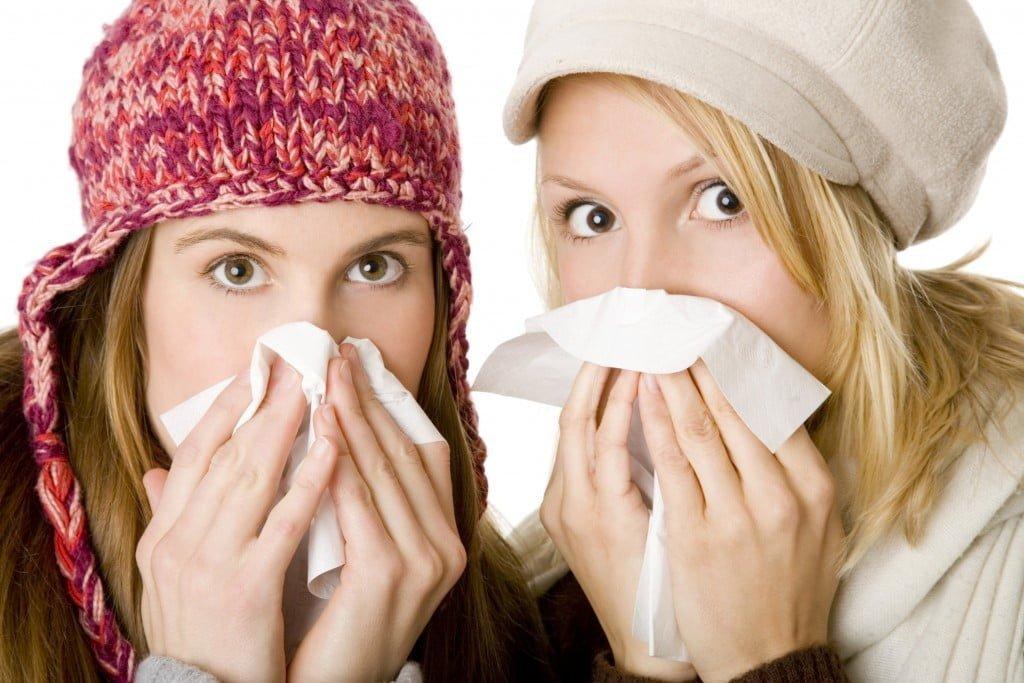 без гриппа