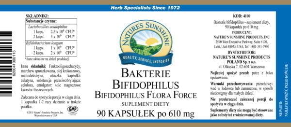 Bifidophilus Flora Force NSP