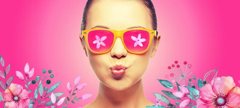 Акция на косметику к 8 марта