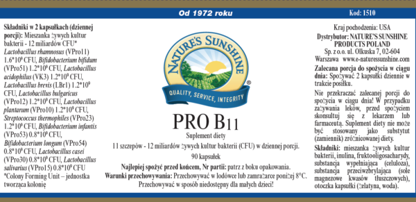 Pro B11 NSP